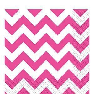 hot-pink-chevron-napkins