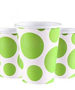 lime-green-dots-cups