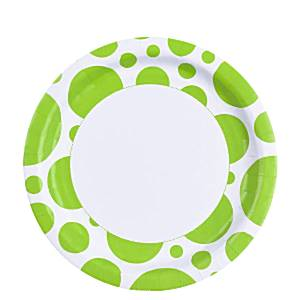 lime-green-dots-plates