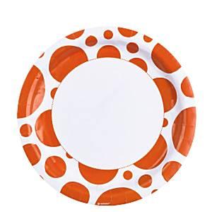 orange-dots-plates