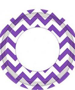 purple-chevron-plates