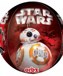 Star Wars Party The Force Awakens Foil Orbz Foil Balloon