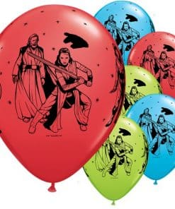 Star Wars: The Last Jedi Party Printed Latex Balloons