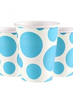 turquoise-dots-cups