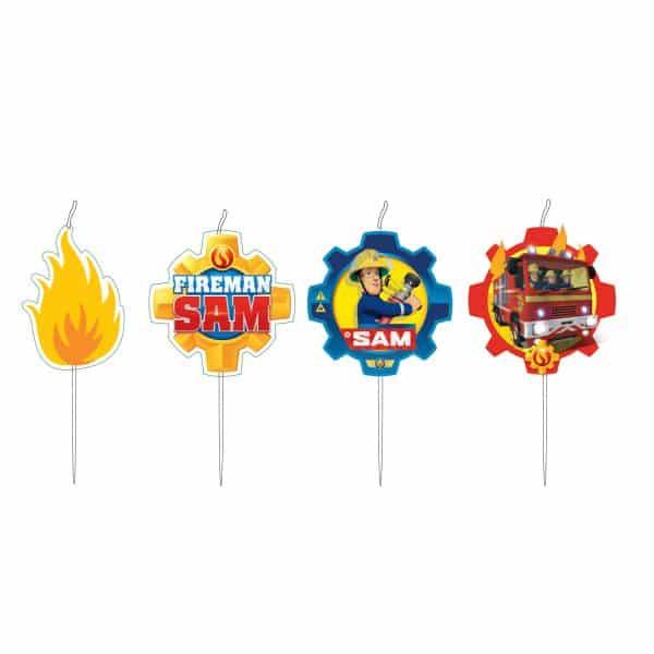 Fireman Sam Candle Set