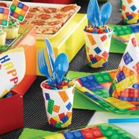 Cheap Lego Block themed Party Supplies