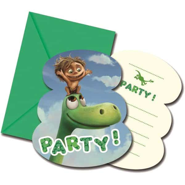 Good Dinosaur Invitations