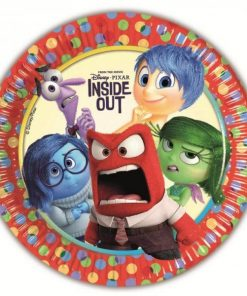 Inside Out Party Paper Plates