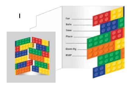 Lego Invitations