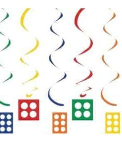 Lego hanging Swirls