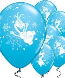 Olaf Printed Latex Balloons