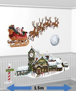Christmas Santa's Sleigh & Workshop Add-Ons