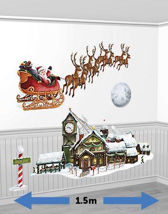 Christmas Santa's Sleigh & Workshop Add-Ons