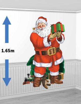 Christmas Santa's Visit Scene Setter