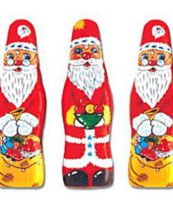 Tall Chcoclate Santas