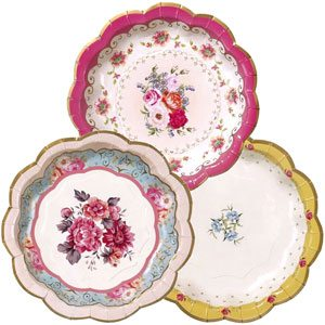 Truly Scrumptious Party Plates