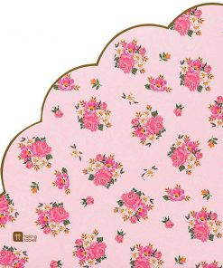 Tea Party - Truly Scrumptious Party Scalloped Edge Paper Napkins