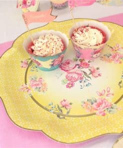 Truly Scrumptious Vintage Paper Serving Plates