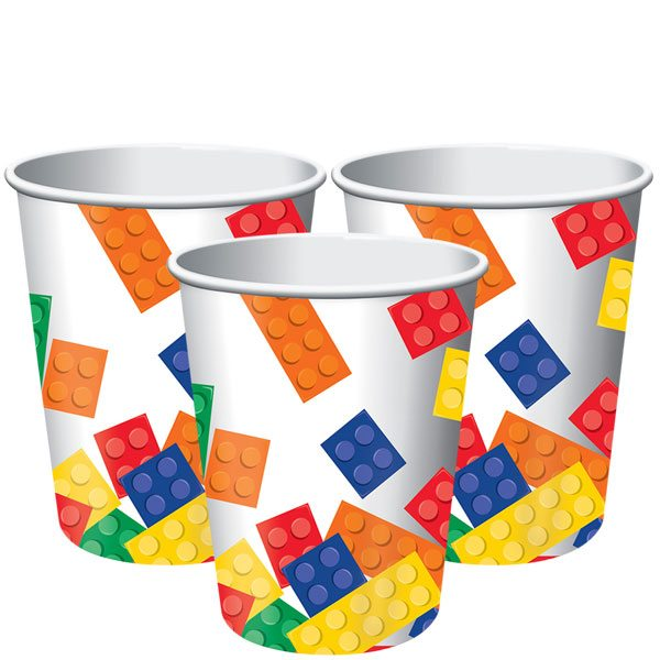Block Party Paper Cups