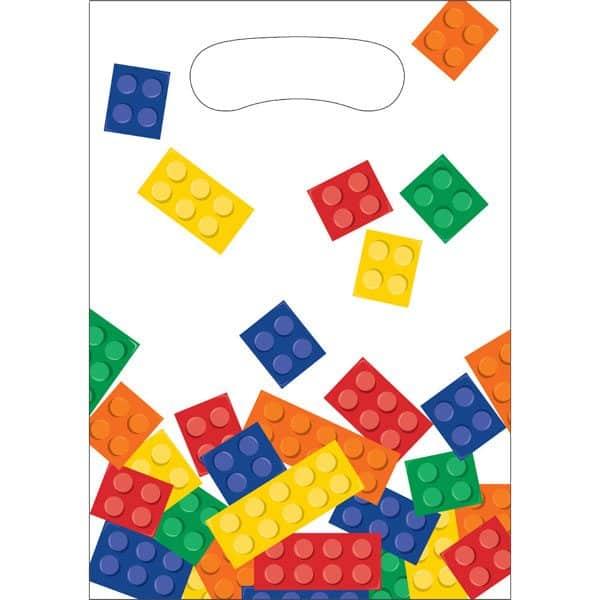 Block Party Plastic Loot Bags