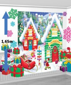 Santa's Workshop Scene Setter Kit