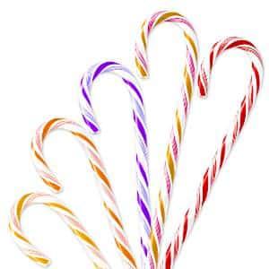 Christmas Fruit Candy Cane