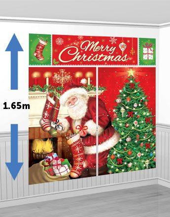 Magical Christmas Scene Setter Kit
