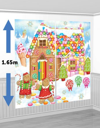 Christmas Sweet House Scene Setter