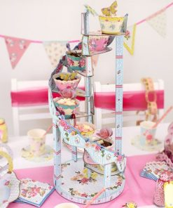 Truly Scrumptious Spiral 9 Tier Cake Stand
