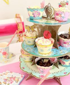 Truly Scrumptious Cup Cake 3 Tier Stand
