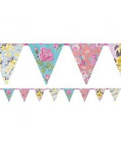 Truly Scrumptious Floral Paper Bunting