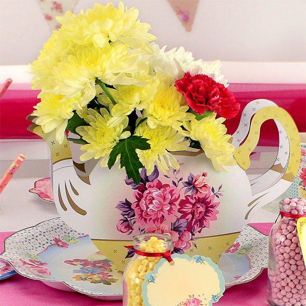 Truly Scrumptious Party Teapot Vase Fun Party Supplies