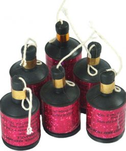 Pink Party Poppers