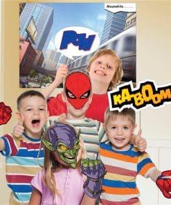 Spider-Man Photo Booth Kit