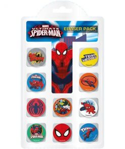 Spiderman Eraser Pack