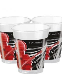 Star Wars The Last Jedi Party Plastic Cups