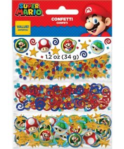 Super Mario Table Confetti