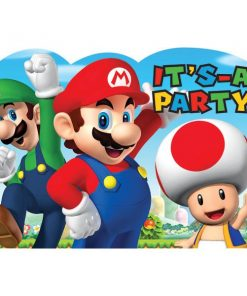 Super Mario Party InvitationsSuper Mario Party Invitations