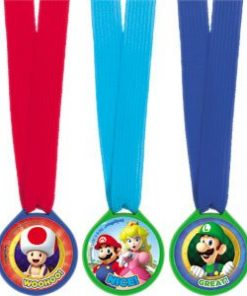 Super Mario Party Mini Award Medals