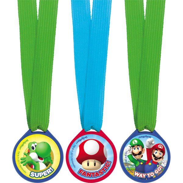 Super Mario Party Mini Award Medals