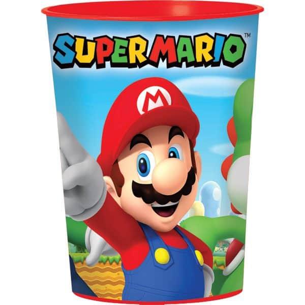 Super Mario Party Plastic Favour Cup