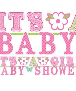 Welcome Baby Girl Banners