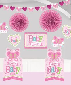 Welcome Baby Girl Room Decorating Kit