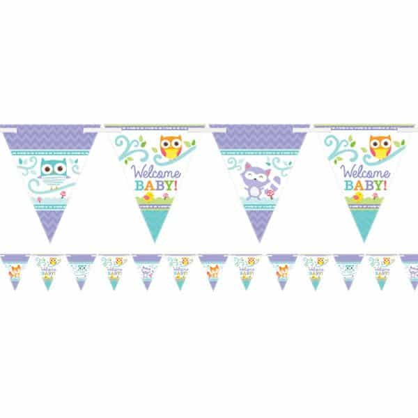 Woodland Baby Party Bunting