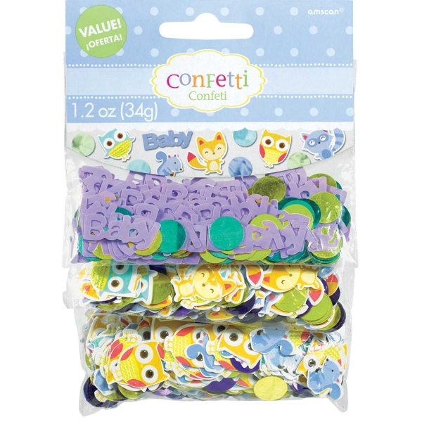 Woodland Baby Party Table Confetti 34g