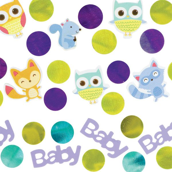 Woodland Baby Party Table Confetti