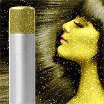 Gold Glitter Hair Body Spray