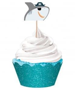 Ahoy Birthday Party Cupcake Kit