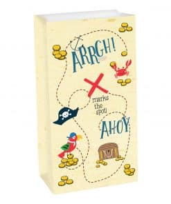 Ahoy Birthday Party Paper Treat Bags