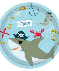 Ahoy Birthday Party Paper Plates